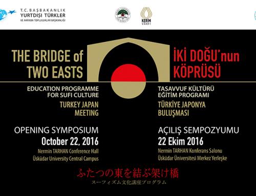 İki Doğunun Köprüsü: Tasavvuf Kültürü Eğitim Programı Açılış Sempozyumu